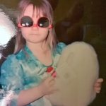 Sierra as a child.