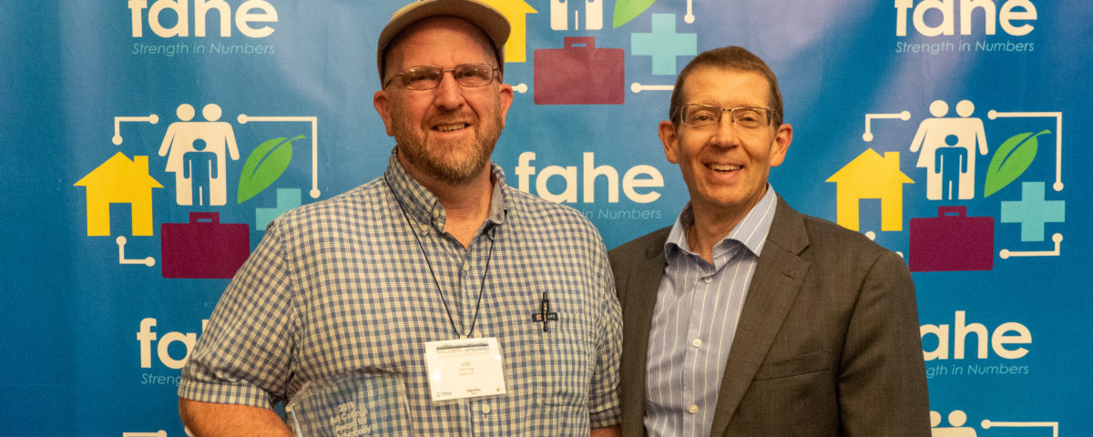 Advocacy Award - Seth Long and Jim King
