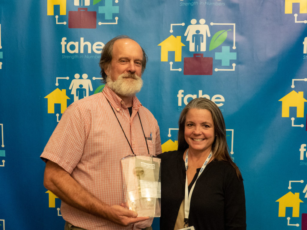 Fahe Award for Excellence - Andy Kegley and Sara Morgan