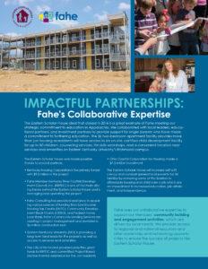 Impactful Partnerships-Fahes Collaborative Expertise