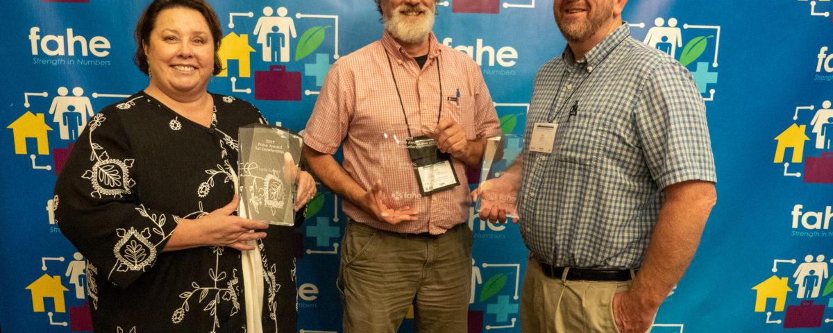 Fahe Annual Meeting Award Winners 2019