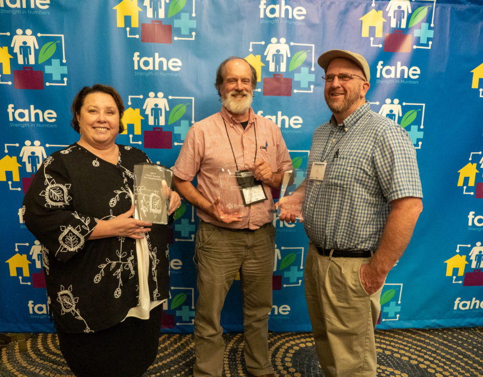 Fahe Annual Meeting Award Winners 2019